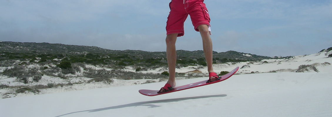 Freedom of Sand Boarding (Adventure Tour)
