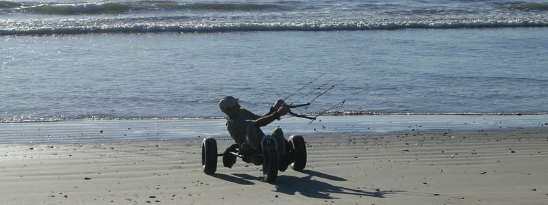 Adventure Kite & Buggy Tour near Cape Town